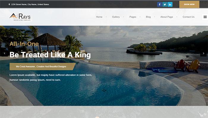 Ngắm những mẫu giao diện website du lịch tuyệt đẹp