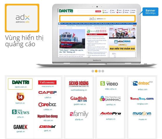 Mạng quảng cáo Admicro