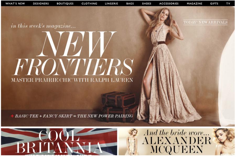 Thiết kế website giới thiệu thương hiệu thời trang