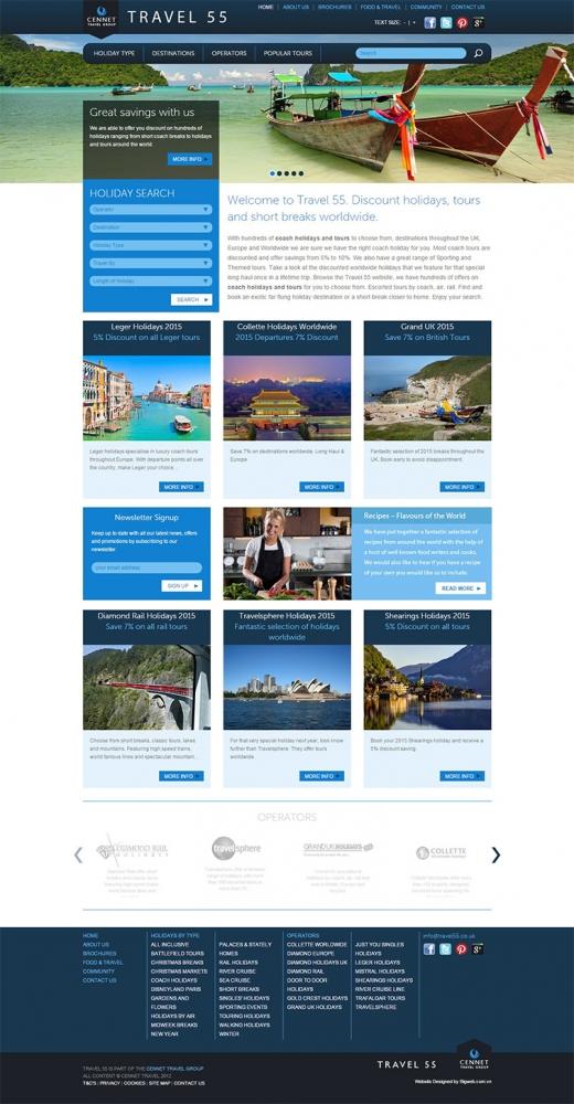 Công ty thiết kế website du lịch chuyên nghiệp
