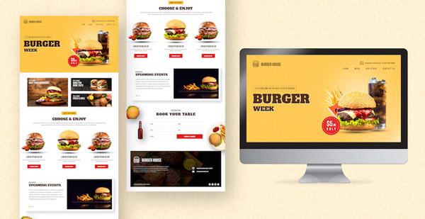 Thiết kế website nhà hàng, ẩm thực chuyên nghiệp