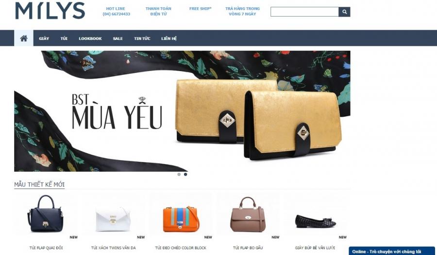 Top những website bán hàng đẹp nổi tiếng