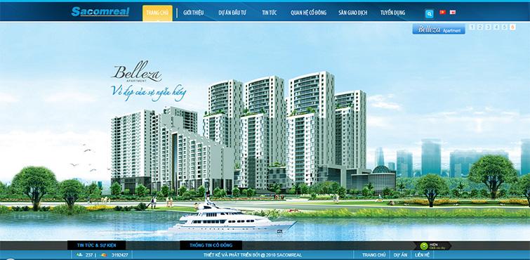 Kết quả hình ảnh cho thiết kế web bất động sản